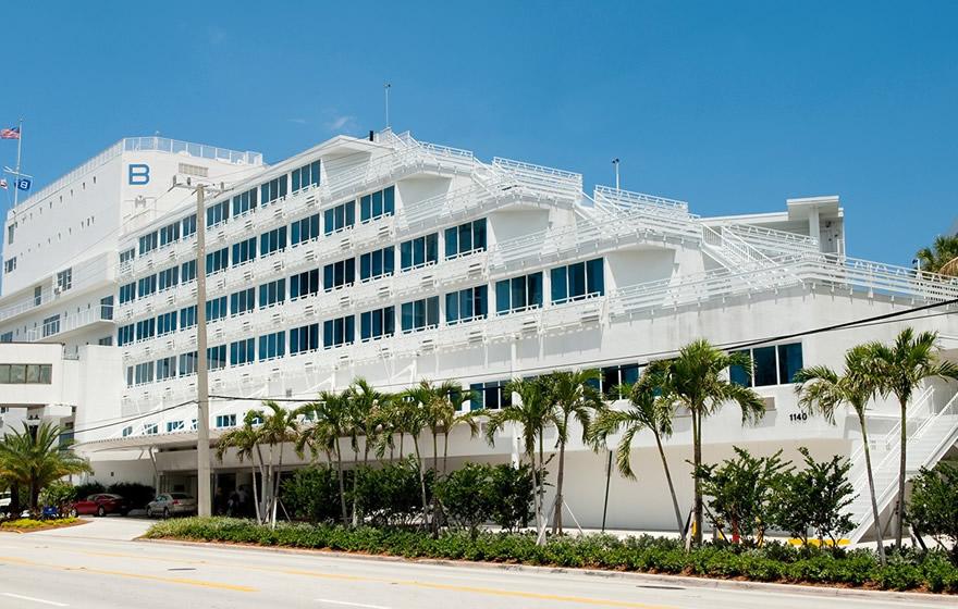 the B Ocean Resort in Fort Lauderdale